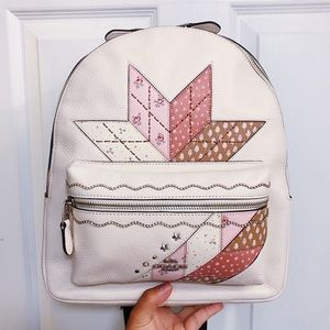 NWT 🌟 Coach Charlie Star Patchwork Backpack